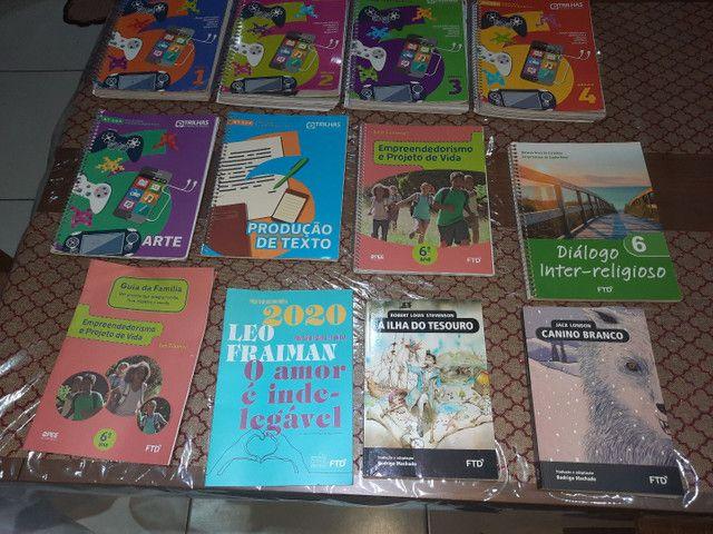Livros ftd sexto ano ensino fundamental -trilhas - esic - Foto 4