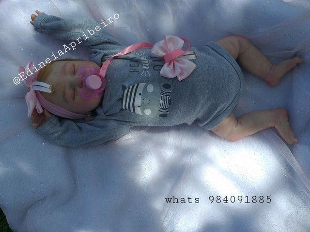 Bebê Reborn Artesanal - Foto 4