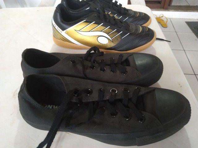 Par de calçados seminovos. - Foto 3