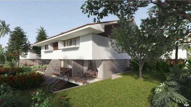 VM-Lançamento de casas no Poço da Panela 258m² com jardins conceito moderno - Foto 2