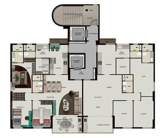 JS- O Melhor 3 quartos de Boa Viagem - Edifício Maria João, 93m², 2 vagas - Foto 19