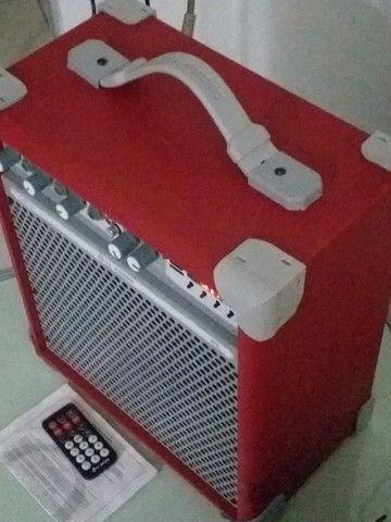 Caixa de som multifuncional (nova) - Foto 2