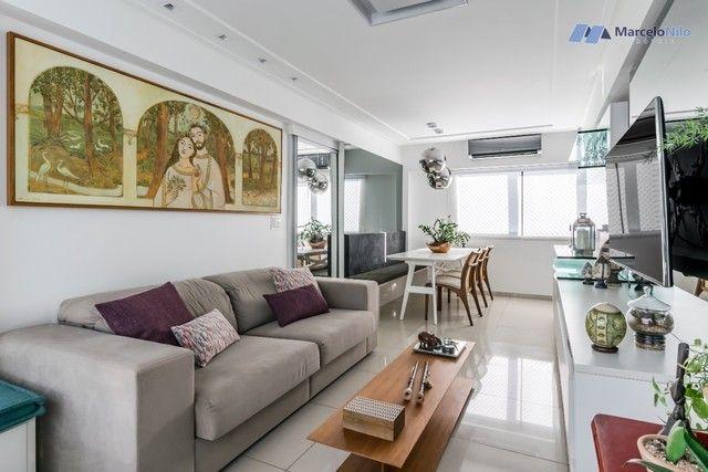 Apartamento  nos Aflitos, 75m2, 3 quartos, 2 suítes, 2 vagas soltas e mobiliado - Foto 3