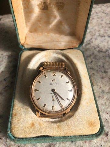 Relógio suíço CYMA usado em excelente estado de conservação - Foto 3
