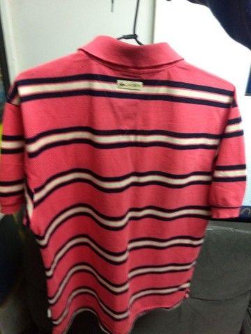 Camisa polo Lacoste Original M - Foto 2
