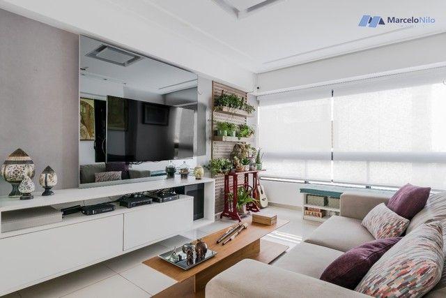 Apartamento  nos Aflitos, 75m2, 3 quartos, 2 suítes, 2 vagas soltas e mobiliado - Foto 2