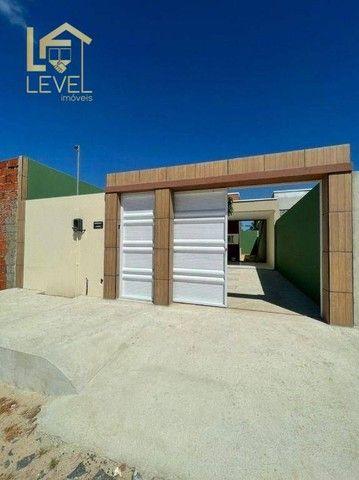 Casa com 2 dormitórios à venda, 72 m² por R$ 139.000,00 - Piau - Aquiraz/CE - Foto 3