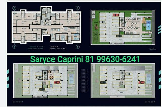 SC| vendo apto 02 quartos com varanda- à 100mts da Av. Caxangá -Saryce * - Foto 4