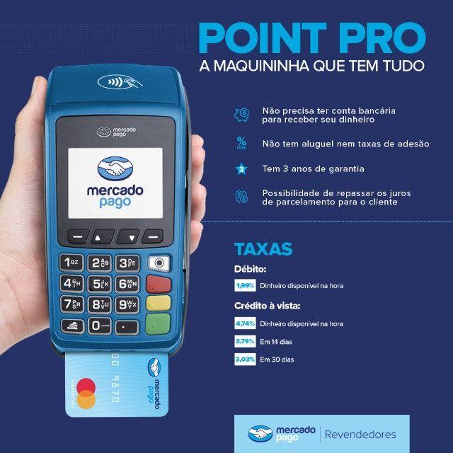 Maquina Cartão Credito - Point Pro - Menor Preço