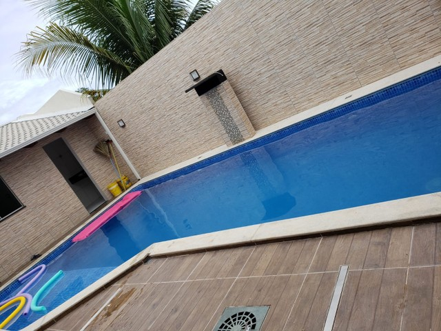 Casa 3/4  c/ piscina toda mobiliada no Residencial Araguaia - Foto 2