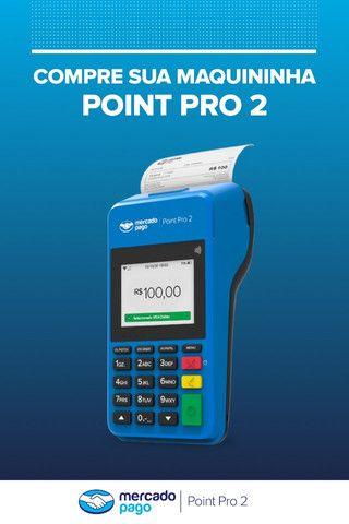 Maquina Cartão Point Pro 2 Imprime Comprovantes