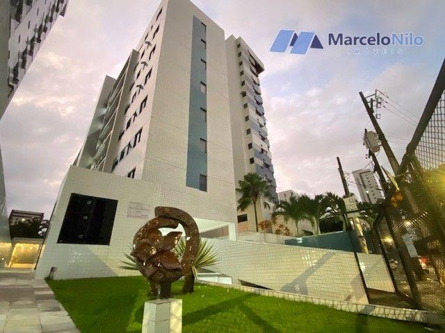 Apartamento  nos Aflitos, 75m2, 3 quartos, 2 suítes, 2 vagas soltas e mobiliado - Foto 20