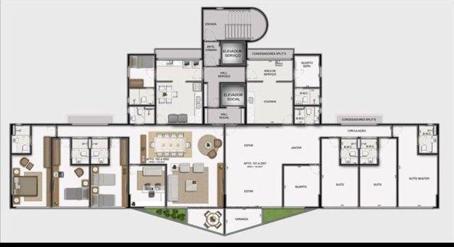 JS - Lindo apartamento em Boa Viagem - 04 Quartos - 02 Vagas - Camilo Castelo Branco - Foto 16