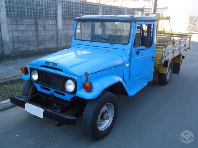 TOYOTA BANDEIRANTE 1984 PICKUP CHASSI LONGO DIESEL