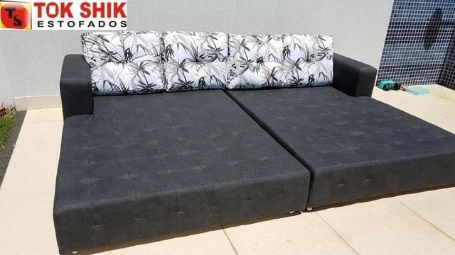 Sofá para área de piscina SF338 revestido em material impermeável - Foto 2
