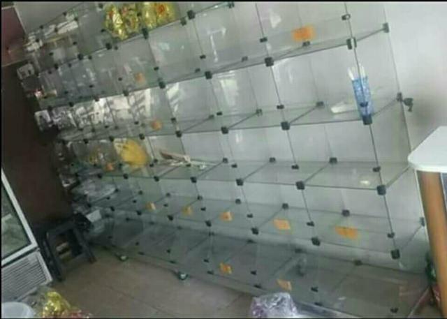Estante De Vidro Temperado : Prateleira de vidro temperado outros itens para comércio e