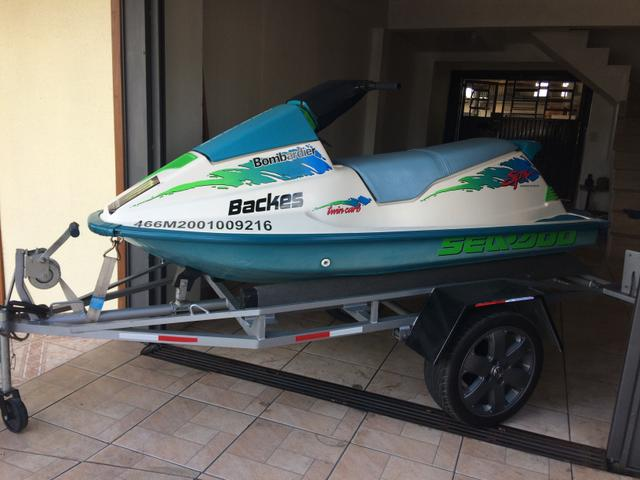 Jet ski Seadoo 580cc SPX 1993 - Foto 6