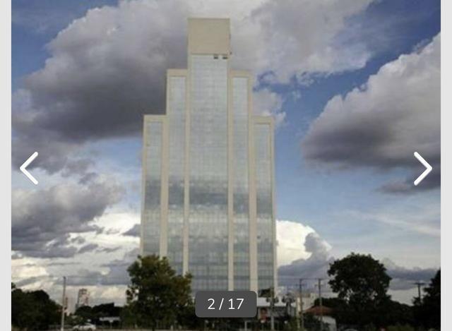 Sala comercial vitrine térrea com 126m2, Ed, Jardim Cuiabá Office, Av. Miguel Sutil - Foto 2