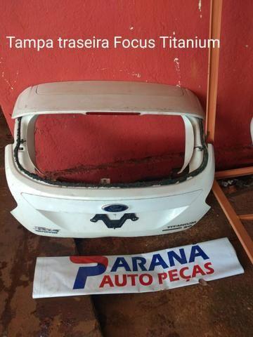 Tampa traseira Ford focus titanium