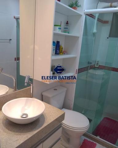 Apartamento à venda com 3 dormitórios em Residencial praças sauípe, Serra cod:AP00169 - Foto 11