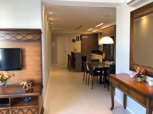 Cobertura 3 dormitórios para locação de temporada em alto estilo e conforto, na praia dos  - Foto 9
