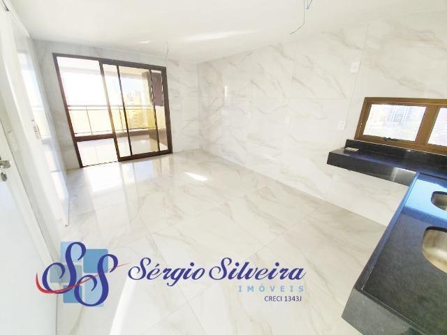 Apartamento na Aldeota alto padrão, 1 por andar e lazer completo Abelardo Pompeu - Foto 7