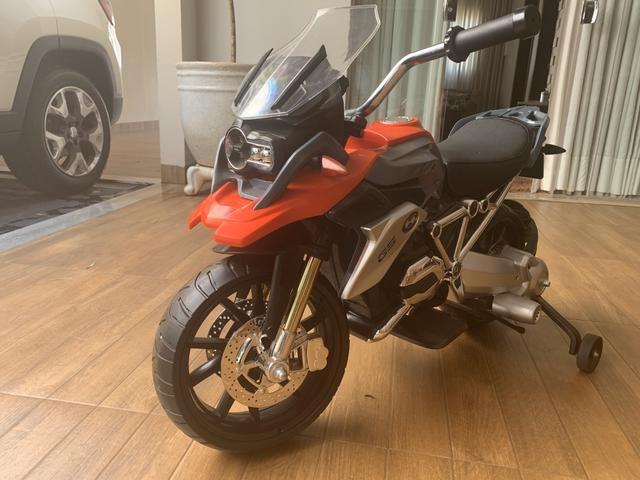 Moto Elétrica - 12V - BMW GS - Vermelha - Bandeirante
