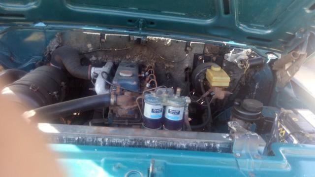 Chevrolet D-20 Custom com carroceria de madeira - Foto 9