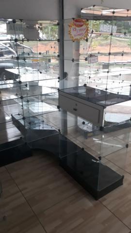 Prateleira ou balcão caixa de vidro - Foto 4