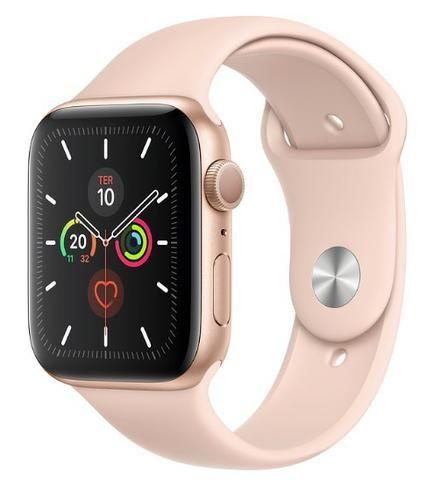 Apple Watch 5 S5 44mm Lacrado - Aceito Cartão - 1 ano de garantia - Foto 3