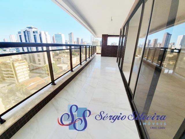 Apartamento na Aldeota alto padrão, 1 por andar e lazer completo Abelardo Pompeu - Foto 4