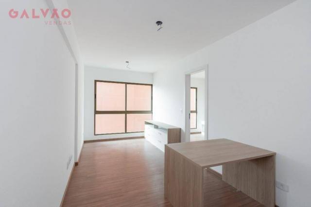 Apartamento com 1 dormitório à venda, 33 m² por R$ 238.156,90 - Centro - Curitiba/PR - Foto 2