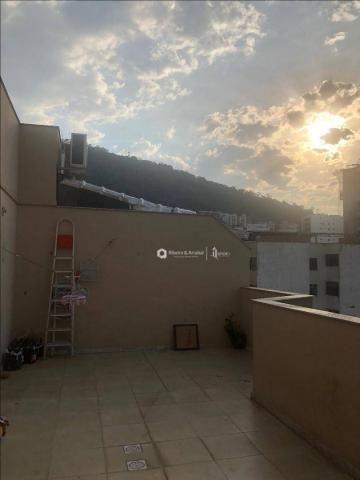 Cobertura com 3 dormitórios à venda, 160 m² por R$ 530.000,00 - Centro - Juiz de Fora/MG - Foto 6