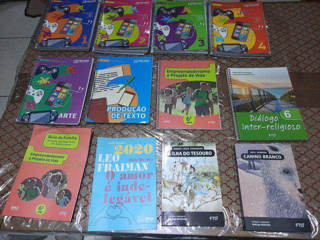 Livros ftd sexto ano ensino fundamental -trilhas - esic - Foto 6