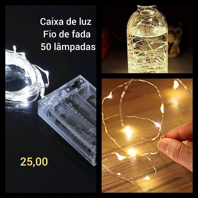 Fio de fada - luz de led - Foto 4