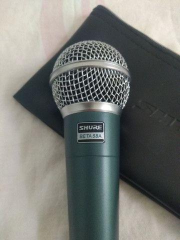 Microfone Shure Beta 58 A - Foto 2