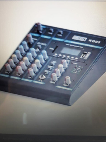 Mesa de som 5 canais BOX KG05 - Foto 2