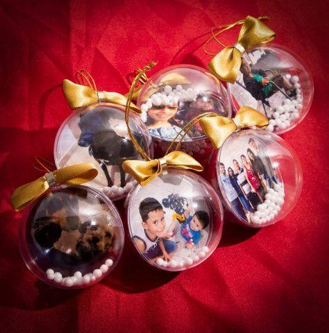 Bolinhas de Natal com foto - Foto 3