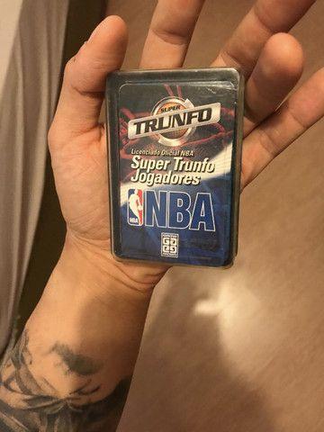 Super Trunfo Licenciado NBA Jogadores Anos 2000 Completo Estado de Novo - Muito raro - Foto 5
