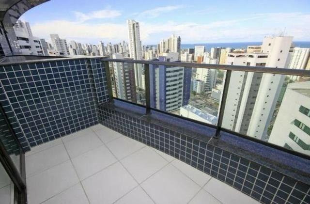 JS- Excelente apartamento de 03 quartos em Boa Viagem -97m² - Edf. Salamanca - Foto 2