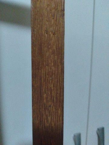 Vendo cama solteiro madeira maciça - Foto 3