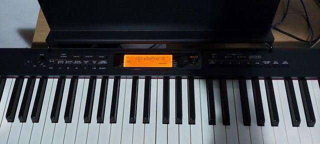 Piano Teclado Casio Cdp s350 bk - Foto 2