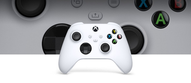 Controle Sem Fio Microsoft Robot White 1914 para Xbox S e X - Branco - Foto 3