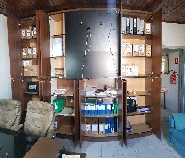 Armário Arquivo para Escritório de Madeira  - Foto 2
