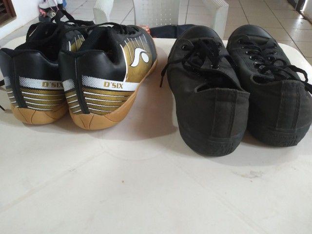 Par de calçados seminovos. - Foto 4