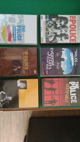 Seis DVDs da Banda The Police - Originais, em perfeito estado!