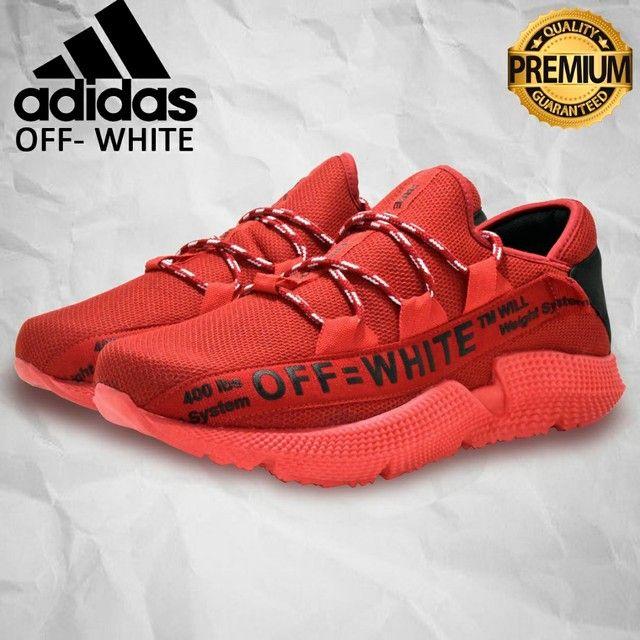 Tênis Adidas Off White - Masculino - Crossfit, Caminhada Numerçao do 38 ao 43 - Foto 2