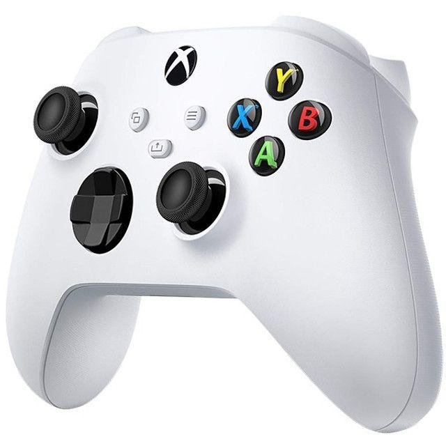 Controle Sem Fio Microsoft Robot White 1914 para Xbox S e X - Branco - Foto 5