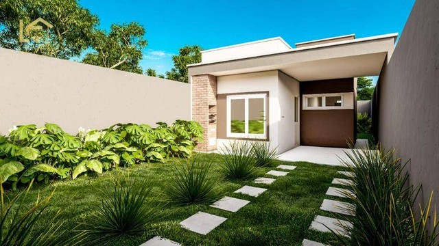 Casa com 2 dormitórios à venda, 72 m² por R$ 139.000,00 - Piau - Aquiraz/CE - Foto 16