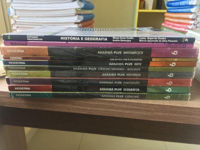 +de 20 livros do 6º, 8º e 9º MODERNA - Foto 4